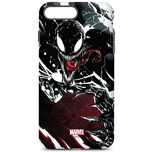 newest 58b6c f5aa2 Skinit Marvel Venom iPhone 8 Plus Pro Case - Venom Slashes Design - High  Gloss, Scratch Resistant Phone Cover