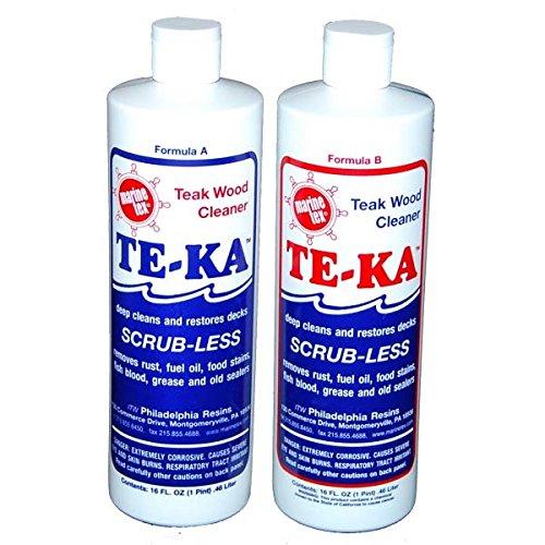 Travaco Labs/Marine Tex Te-Ka Teak Cleaner