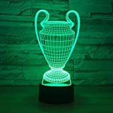 GTY TOEWR 3d Remote Control Lamp, Crystal Creative Gift Nightlight Children's Birthday Party Atmosphere Lamp-Bluetooth Speaker