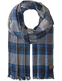 Woven Large Check Scarf Accessory