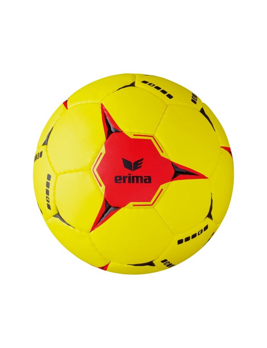 Erima 7200703 Ballon de Handball Mixte Jaune/Rouge Taille 3 ERIM3|#Erima