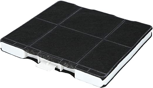 Filtro de carbón activo para campana extractora adecuado como alternativa para filtro de carbón 11026769, para extractor de humos Siemens, Bosch, Neff – 1 pieza: Amazon.es: Hogar