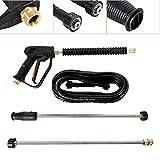 TBvechi Car Washer, 3000PSI Car Power Spray Gun High Pressure Car Washer Kit Spray Gun