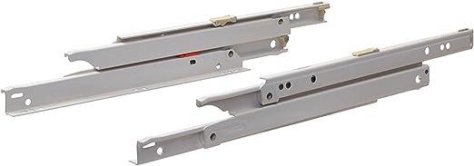 350mm-500mm Soft Close Schubladenschienen Rollschubführung Rollen Auszug Schiene