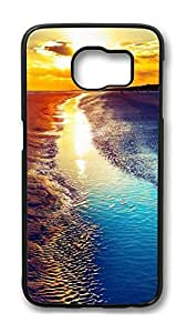 Brian114 Case, S6 Case, Samsung Galaxy S6 Case Cover, Beautiful Scenery Retro Protective Hard PC Back Case for S6 ( Black )