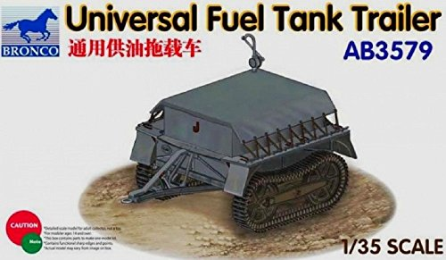 Bronco Models Universal Fuel Tank Trailer Model Kit