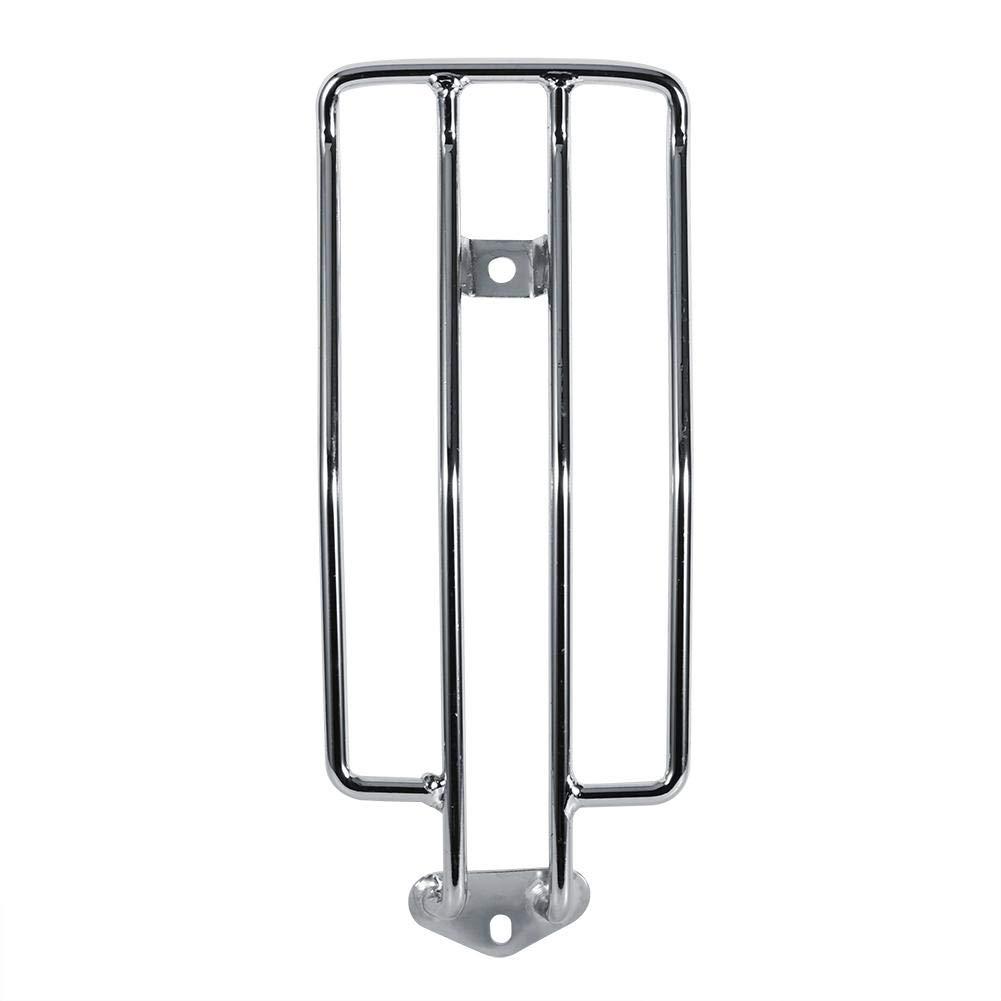 portabagagli posteriore in metallo per sedile posteriore Silver Portapacchi posteriore