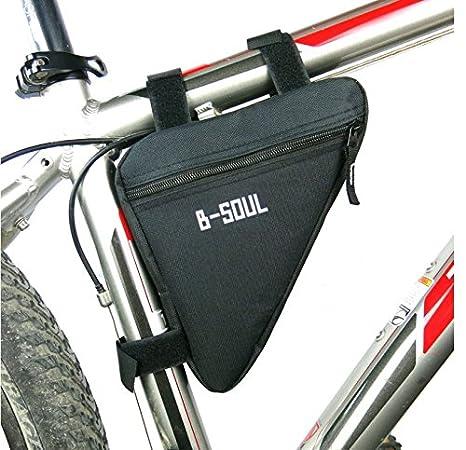 Extrbici Bolsa Triangular para Bicicleta, Tubo Delantero, para Bicicleta, Accesorios para Bicicleta de