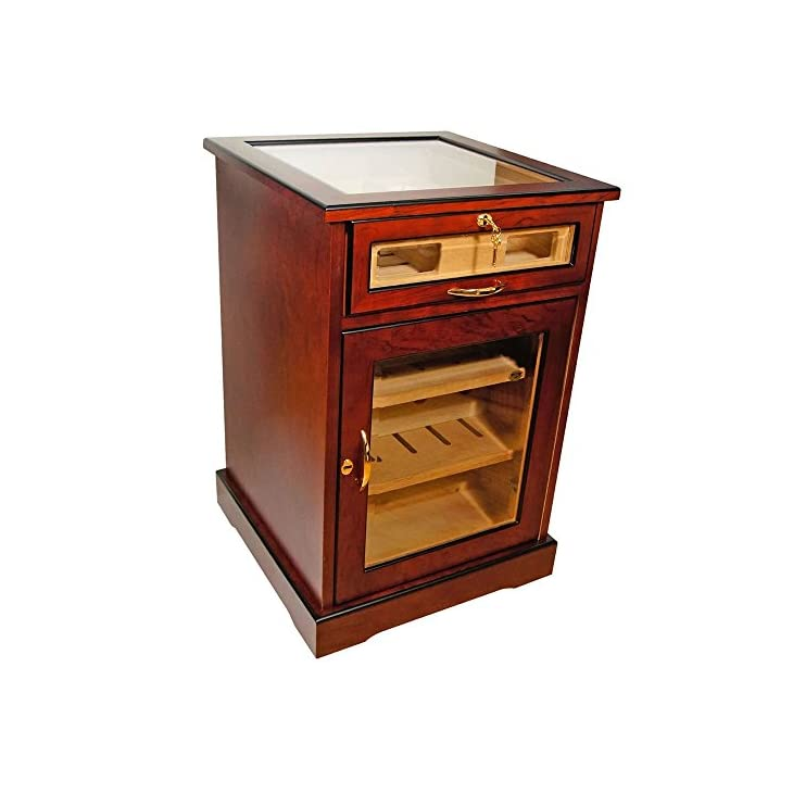 Wine and Cigars Cabinet Humidor In Home