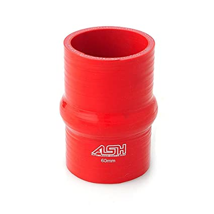 90mm AutoSiliconeHoses 76mm ID Red Silicone Straight Reducing Hose