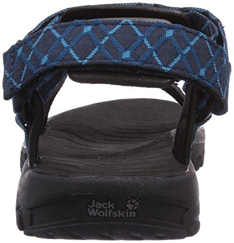 Jack Wolfskin Seven Seas Men, Sandali esterni Uomo Blau (Moroccan Blue 1800)