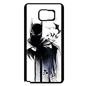 Cool Poster Batman Hard Plastic Mobile Case with Batman Style Snap on Samsung Galaxy Note 5