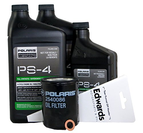 polaris xp 1000 oil change kit - 4