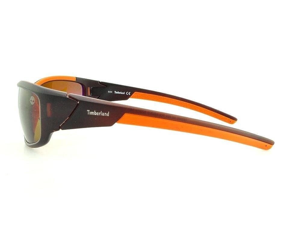 13e571ba3b Sunglasses Timberland TB 9049 TB9049 49H matte dark brown   brown polarized  at Amazon Men s Clothing store