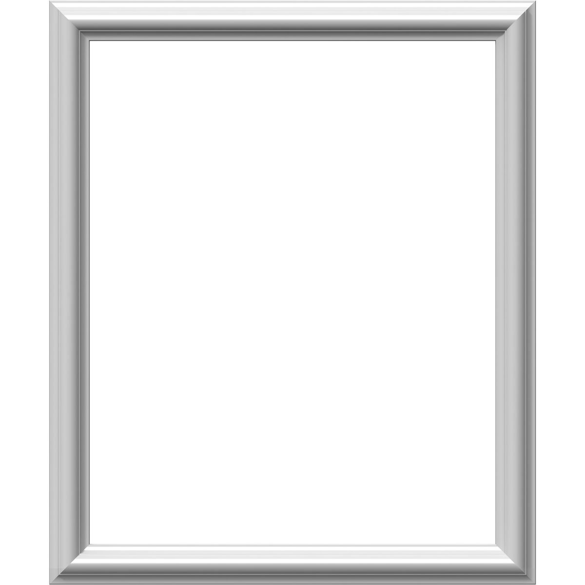 Ekena Millwork PNL20X24AS-01-CASE-4 20''W x 24''H x 1/2''P Ashford Molded Classic Wainscot Wall Panel (4-Pack), x x, Factory Primed White, 4 Piece by Ekena Millwork