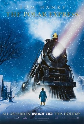 Polar Express The Movie Poster #01 (Polar Express Movie Poster)
