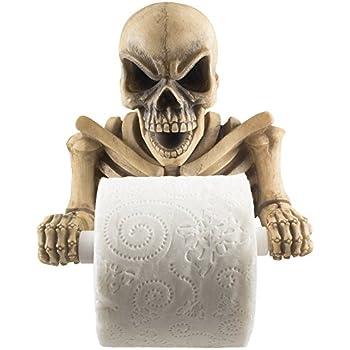 Amazon Com Gifts Amp Decor Halloween Toilet Paper Holder