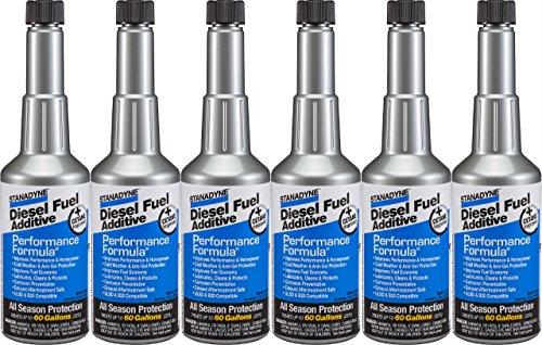 Performance Stanadyne Formula - Stanadyne Performance Formula Diesel Fuel Additive - Pack of 6 Pint Bottles - Part # 38565