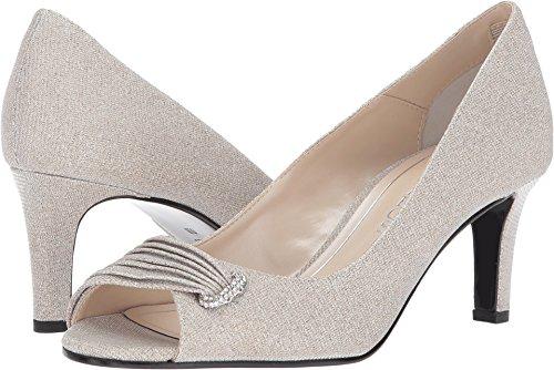 Caparros Women's John Nude Glimmer Sandal