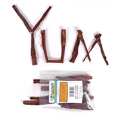 new hot dog bully sticks made in the usa bull pizzle 6 inch long 1 pound. Black Bedroom Furniture Sets. Home Design Ideas