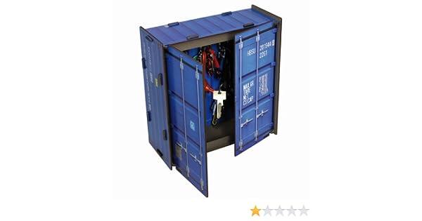 Casa - llave de caja en contenedores-óptica, azules (CO1061): Amazon.es: Hogar