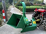 4''x10'' PTO Tractor Wood Chipper Shredder 540-1000 RPM, BX42S