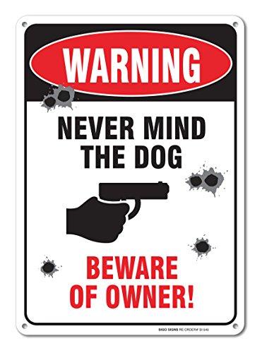 Sigo Signs Warning Aluminum Outdoor
