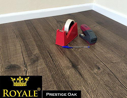 12mm Laminate Wood Flooring - V Groove - AC5 - Embossed Oak - High Quality...