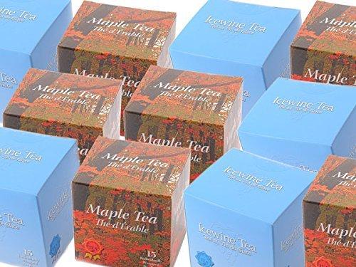 Cheena Canada souvenir maple tea 2 boxes &-out ice wine tea 2 boxes tea set by Cheena