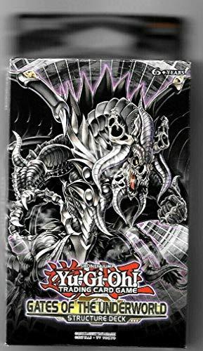 Yu-Gi-Oh! Gates of The Underworld Structure Deck + 1 Ultra Rare Card + 2 Super Rare Cards + 1 Game Mat