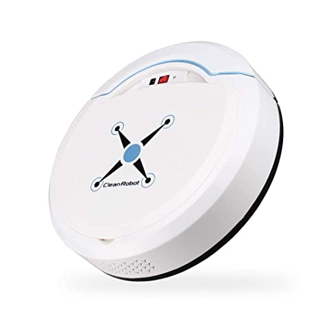 melysEU Robot Aspirador Automático Avanzado con Aspirador de Potencia Máxima para el Cabello de Mascotas,