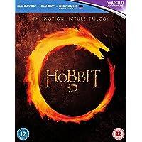 The Hobbit Trilogy [Blu-ray 3D + Blu-ray] [2015]