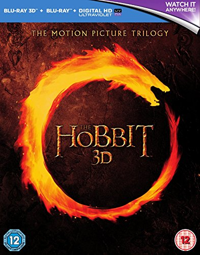 The Hobbit Trilogy [Blu-ray 3D + Blu-ray] [Region Free] [UK Import] [UV Edition Not Available]