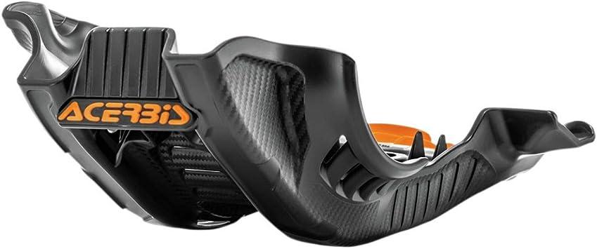 Acerbis Glide Plate Orange//Black for 19-20 KTM 250SXF