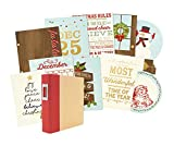 Sn@P! Foiled Pages 10/Pkg-Classic Christmas W/Gold Accents