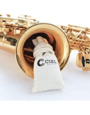【CIEL】 CARE POCKET for musical instrument (Remove the smell, Dehumidification and Humidity Functions), Saxophone, Saxophone Accessories, Saxophone Cleaning kit, Trumpet, Brass, Brass Cleaner