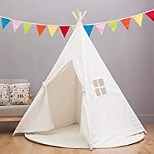 XWT 2017 new Indian tent full canvas 4 children's tent indoor toy house
