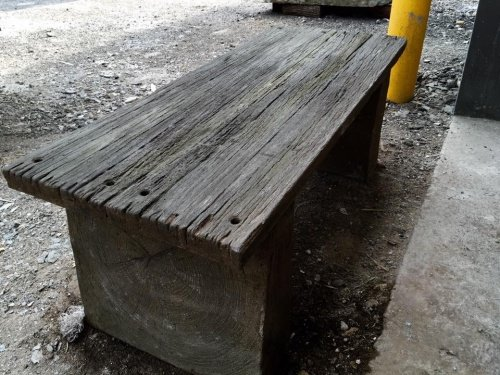 Barnwood Plank Bench Precast Concrete Mold Set - 4 ft