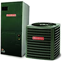 Goodman 3 Ton 14 SEER AC with 60 000 BTU 96% AFUE Downflow Gas Furnace GCSS960603BNGSX140361