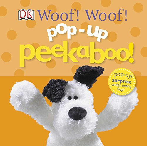 Hand Puppet Childrens Toy (Pop-up Peekaboo: Woof! Woof!)