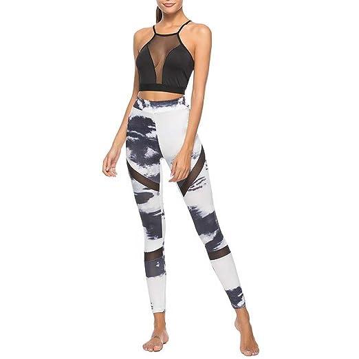 Yoga Leggings Pantalón mujeres, xinantime mujeres impresora ...