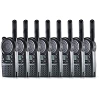 8 Pack of Motorola CLS1410 Two way Radio Walkie Talkies