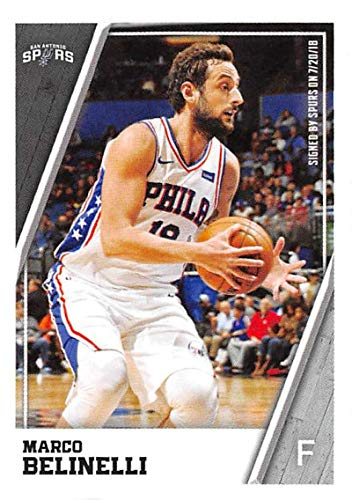 2018-19 Panini NBA Stickers Basketball #383 Marco Belinelli San Antonio Spurs