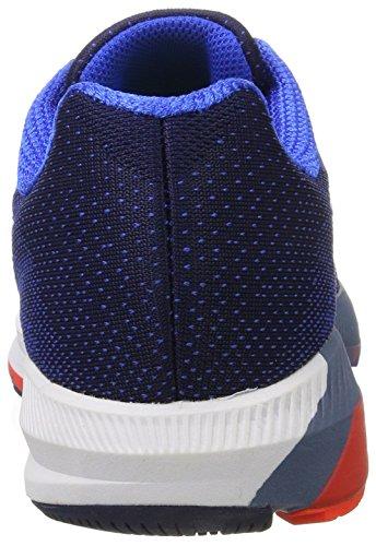 Nike Mens Luft Zoomkonstruktion 20 Löparsko Binär Blå / Vit / Hyper Kobolt