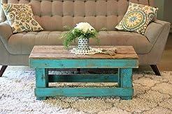 Turquoise Combo Coffee Table