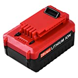 Reoben 4.0Ah Replacement for Porter Cable 20 Volt Lithium ion Battery PCC685L PCC680L Cordless Power Tools