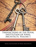 Transactions of the Royal Institution of Naval Architects, , 1143549813