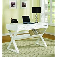 Coaster Desk, White