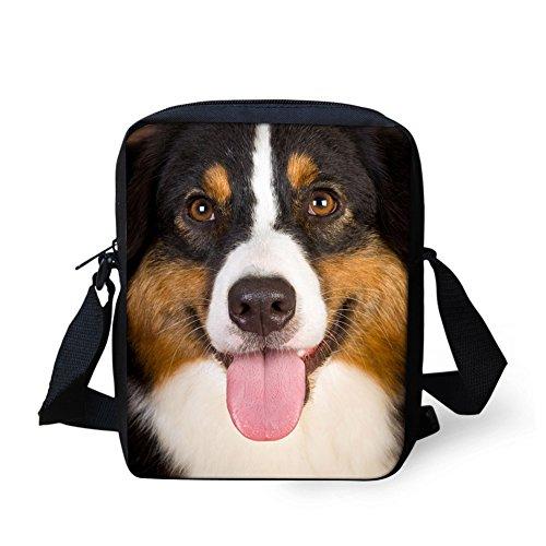 HUGS Messenger Shoulder Purse IDEA Girls Mini for Dog3 Pattern Boys Travel Bag Animal Handbags I01qrxBI
