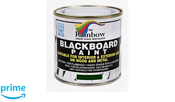 Verde - pintura de pizarra 250 ml con tiza líquida Ideal para uso seco y tizas